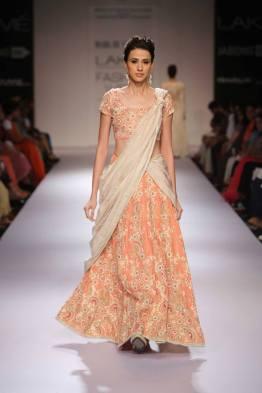 Marg by Soumitra light pastel lehenga