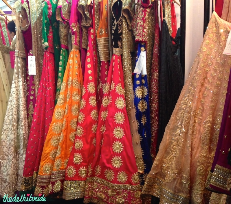 Lehengas by Anjali Sharma for French Curve