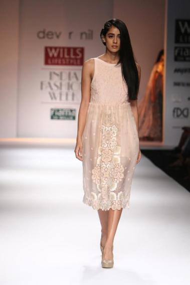 Lace dress by Dev R Nil