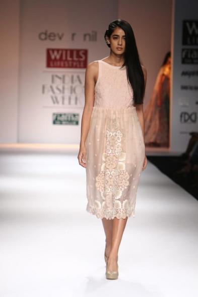Lace dress by Dev R Nil