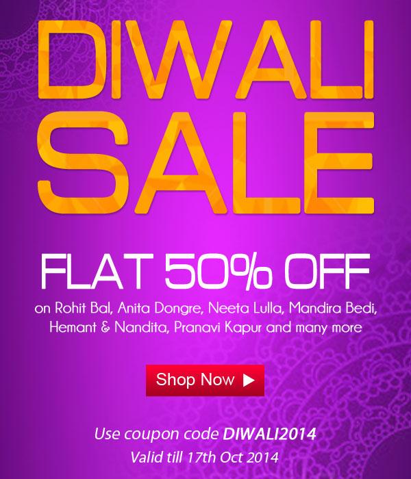 IndianRoots Diwali Mega Sale flat 50% off