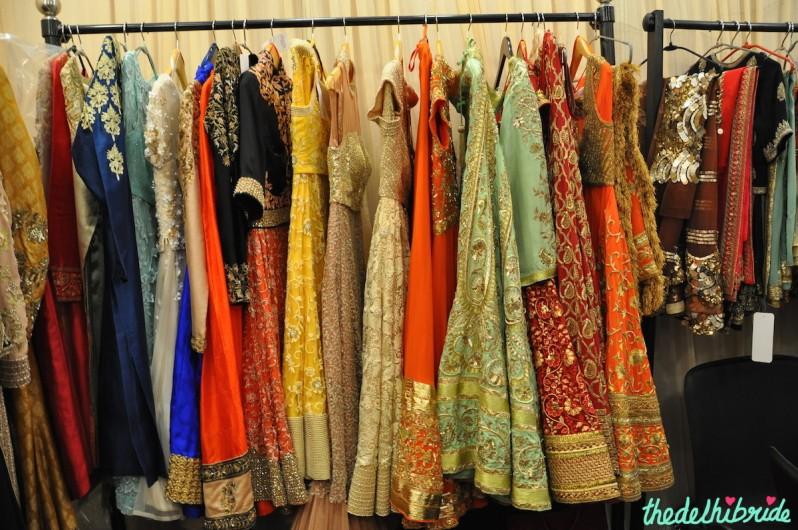Jyoti Gill bridal lehengas for trousseau at Bridal Asia 2014