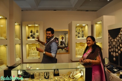 Rawat Jewels owners at Bridal Asia 2014