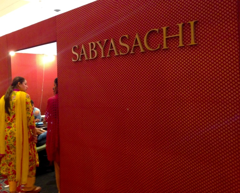 Sabyasachi at Bridal Asia 2014