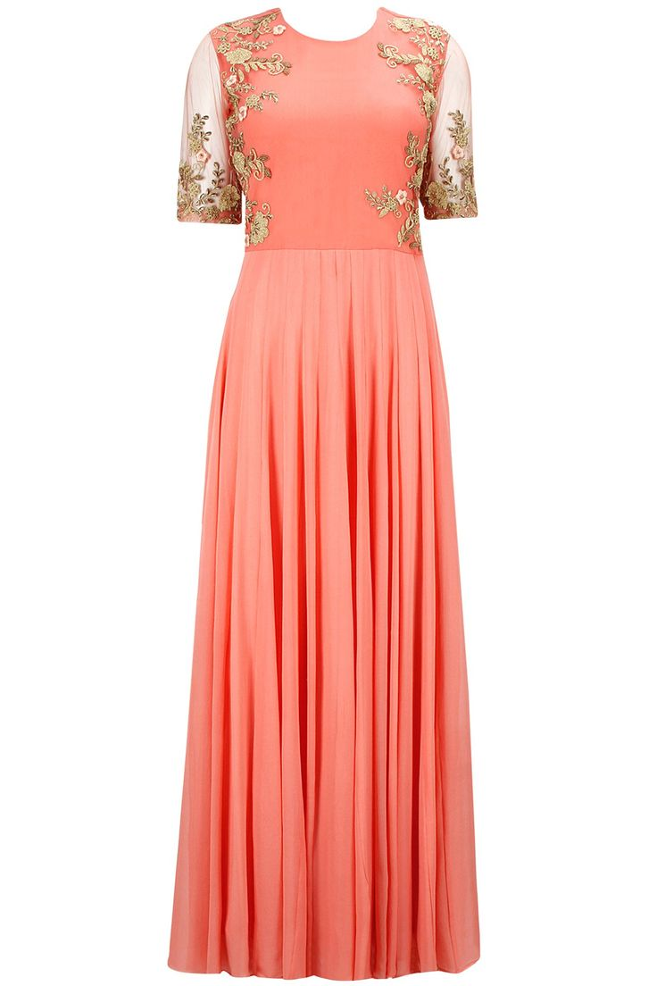 24000 bhumika-sharma-peach-floral-embroidered-anarkali