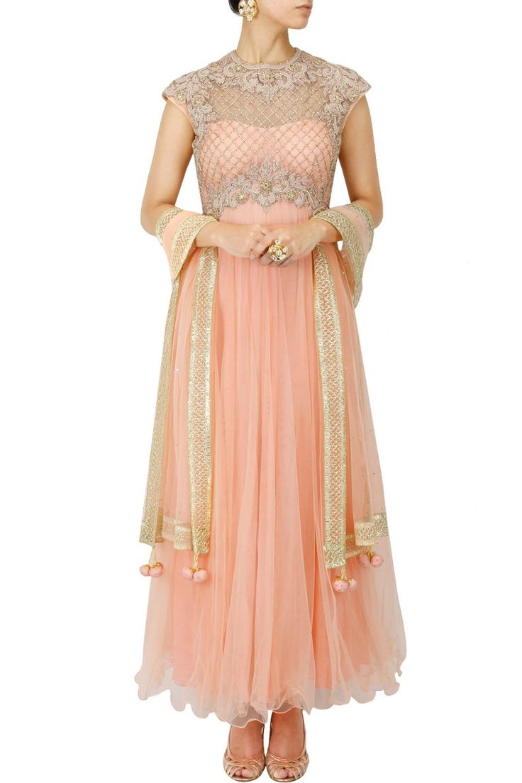 INR 38,500 Preeti S Kapoor vintage anarkali for friend's sangeet