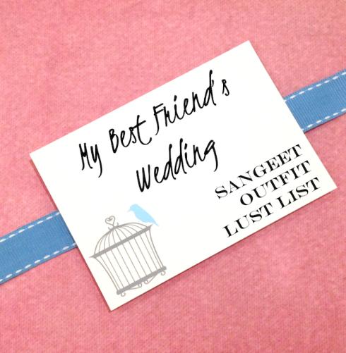 My Best Friend's Wedding Secret Sangeet Outfit Lust List Revealed