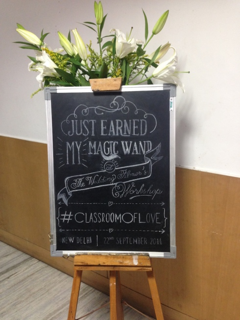 The Wedding Filmer Delhi workshop review #ClassroomOfLove