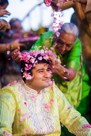 Adesh, the groom
