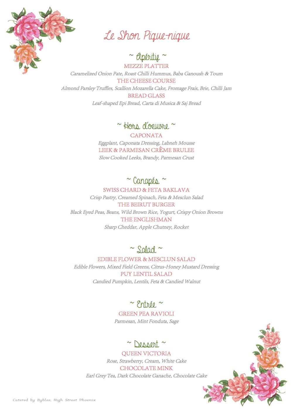 Of Tea Cakes, Farm Roses & 7 Course Meals | Shonan's ...
