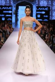 a2b7d41e5344a The Best Lehengas at Lakme Fashion Week S R 2015 – thedelhibride ...