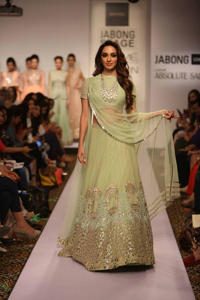 The Best Lehengas At Lakme Fashion Week S R 2015 An Indian Wedding Blog