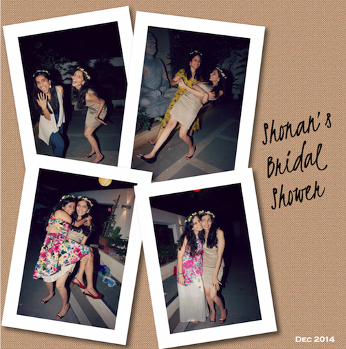 Shonan with her friends Bridal Shower
