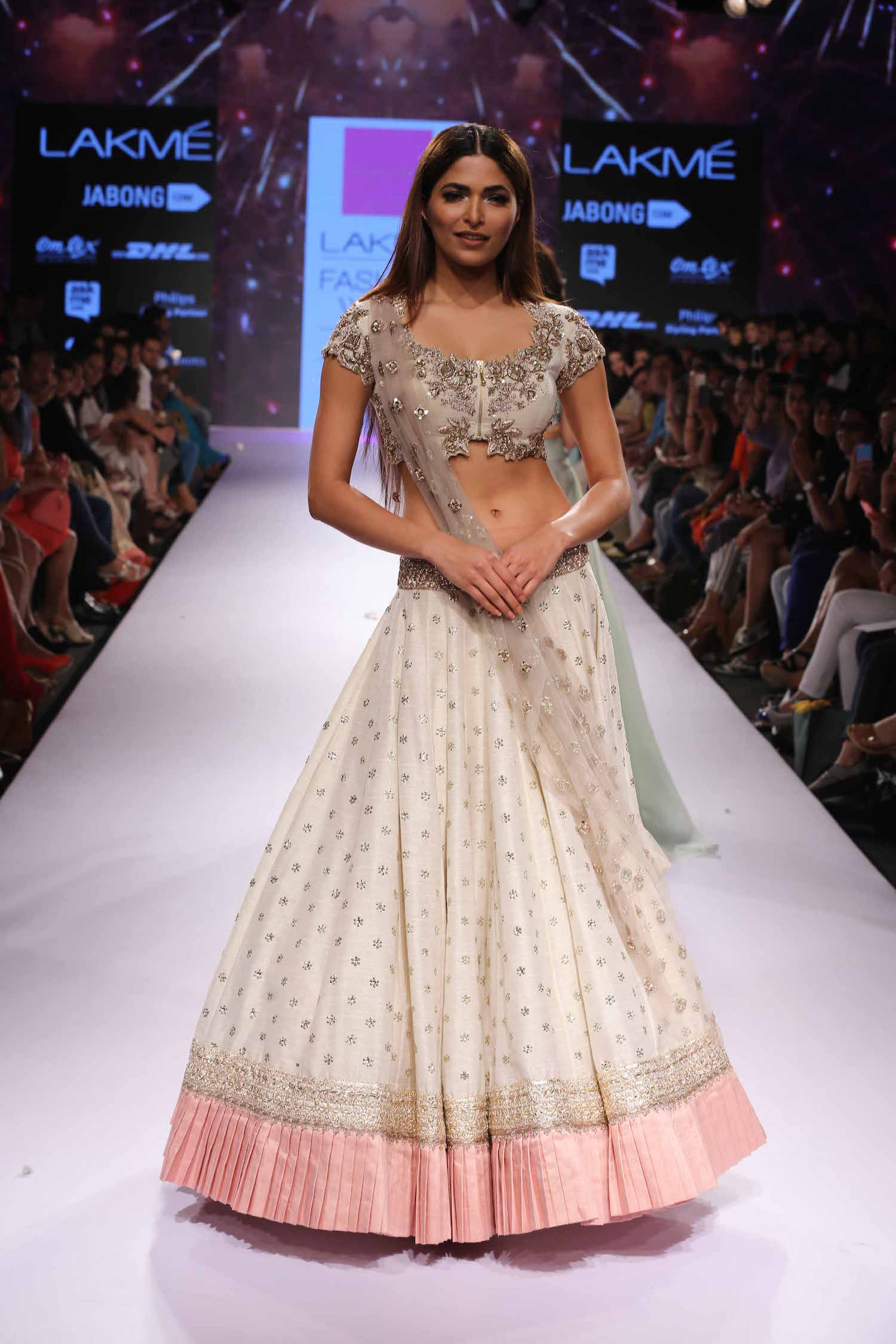 The Best Lehengas At Lakme Fashion Week S R 2015 An