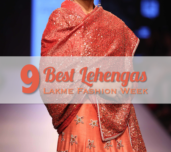 The best lehengas at Lakme Fashion Week Summer Resort 2015