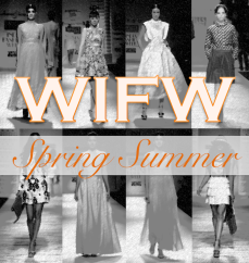 Wills India Fashion Week Spring Summer 2015 summer fashion