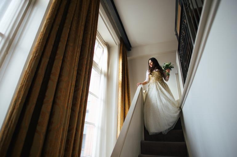 1 White wedding gown Mumbai designer Anushka Hajela Wedding Wardrobe