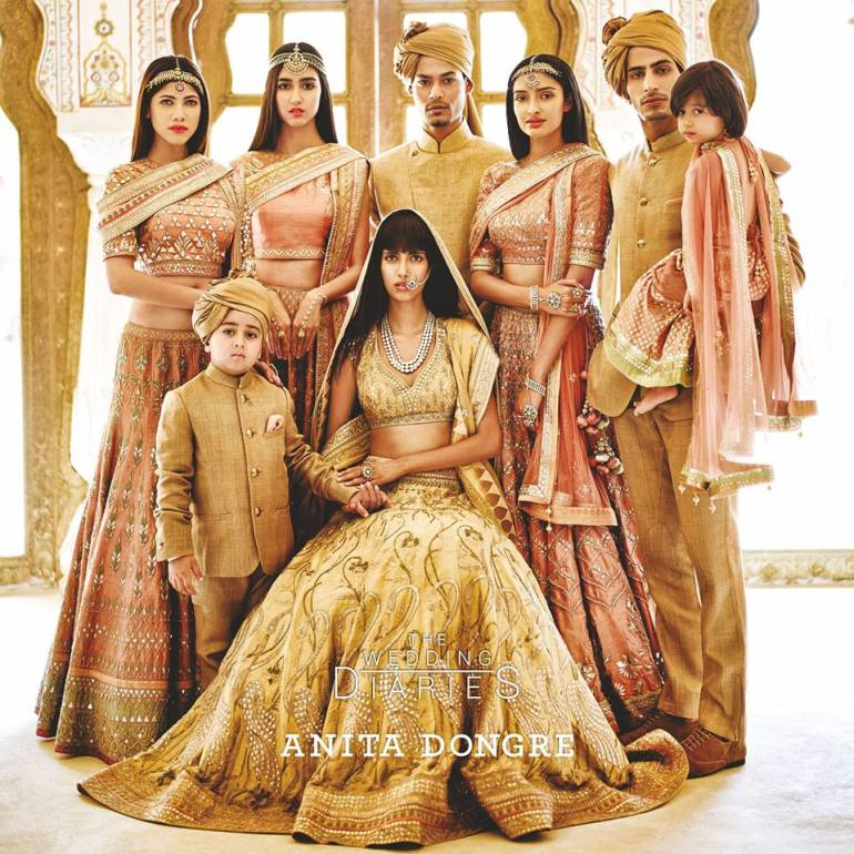 Anita Dongre Wedding Diaries 2015 Nayantara collection