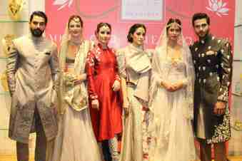 Anju Modi preview bridal collection 2015 Vogue Bridal Studio all models
