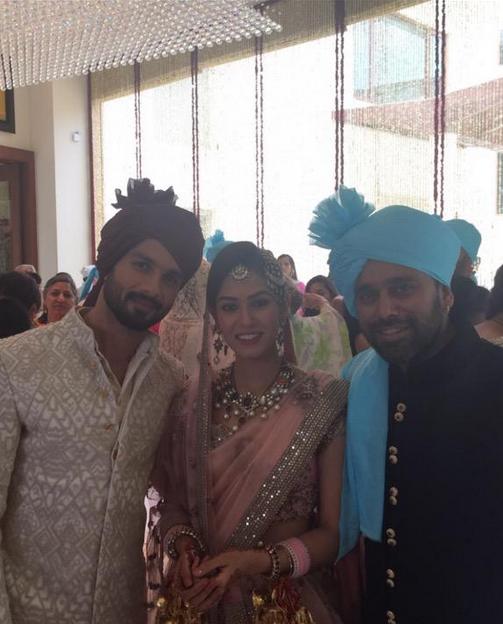 Bosco Martis congratulates Shahid Kapoor and Mira Rajput selfie | Shahid Kapoor wedding