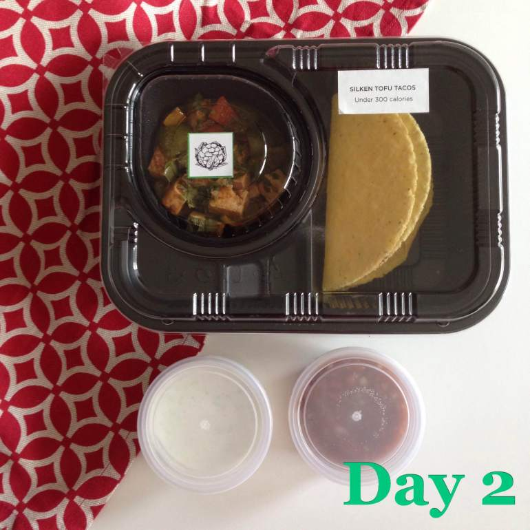 Day 2 Main Silken Tofu Tacos | Eatonomist review #FitwithTDB healthy food in Gurgaon
