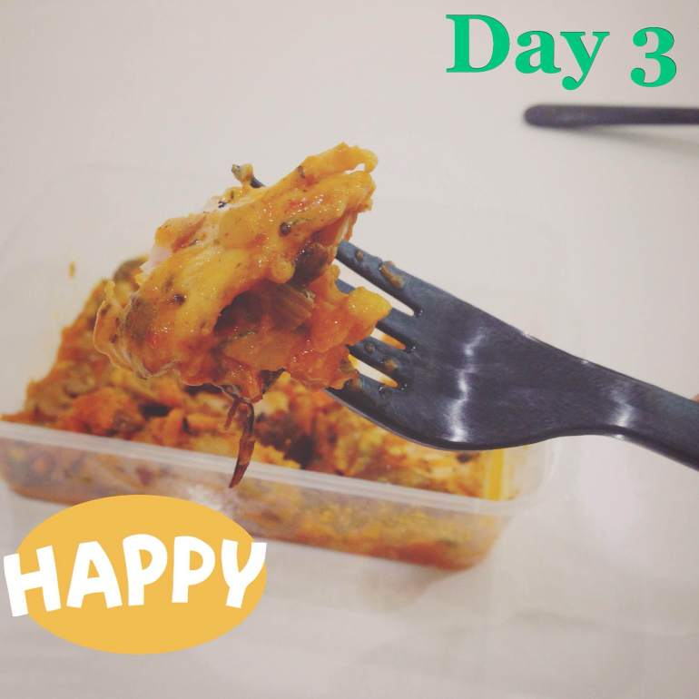 Day 3 Main Chicken & Mushroom lasagna with ricotta | Eatonomist review #FitwithTDB healthy food in Gurgaon