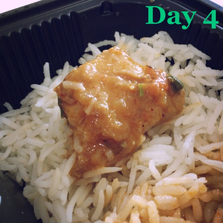 Day 4 Main Bengali fish curry and steamed rice | Basa fish with no mustard oil | Eatonomist review #FitwithTDB healthy food in Gurgaon