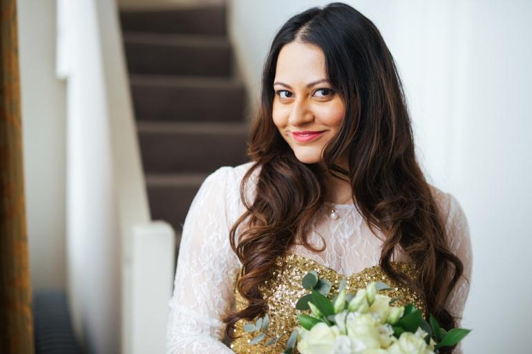 Getting Ready Hair & Makeup done   Anushka Hajela Wedding Wardrobe