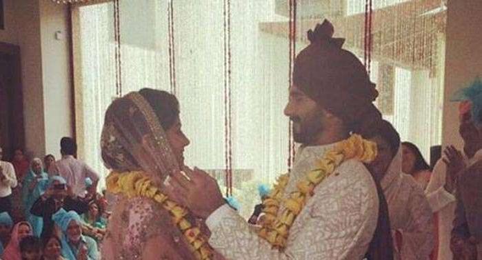 Jaimaal at Shahid Kapoor Mira Rajput Wedding