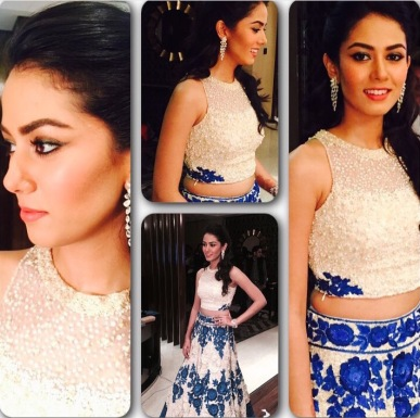 Mira Rajput's Glam Team: styled by Ami Patel, makeup by Mallika Bhat and hairstyle by Alpa Khimani