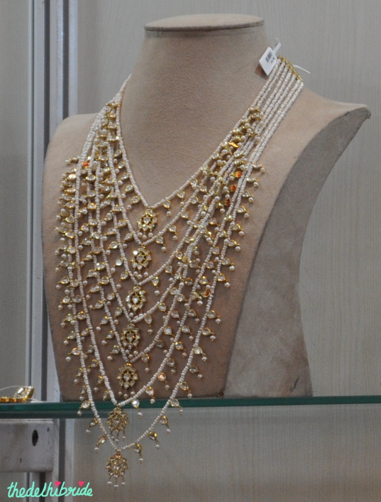 necklace - jewellery - Sanzany - Best of Wedding Asia Delhi 2015