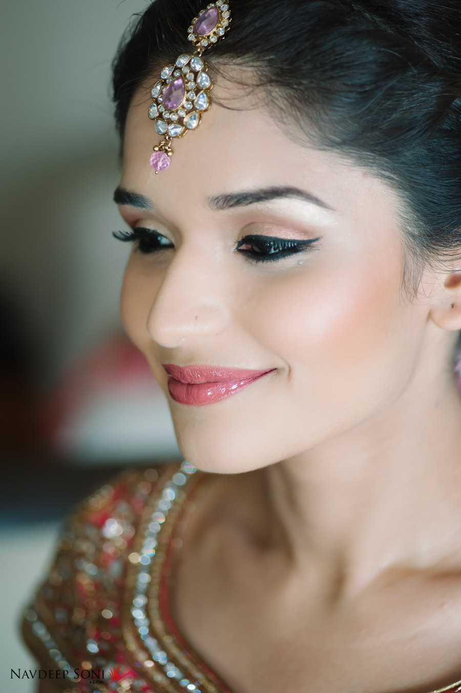 Bridal Eye Makeup With Red Lehenga : Bridal Beauty Lessons from Namrata Sonis Masterclass ...