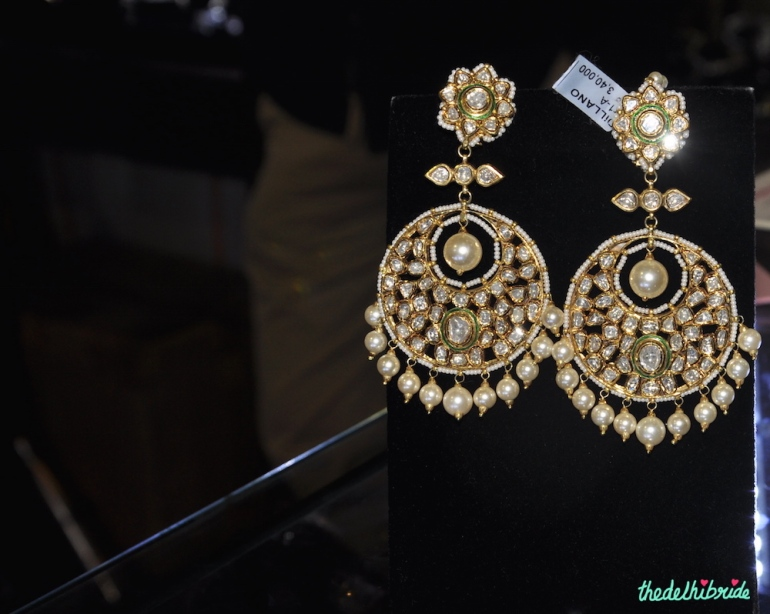 Pearl jhumkis - jewellery collection - contemporary jewellery - Dillano Luxury Jewellery - Best of Wedding Asia Delhi 2015