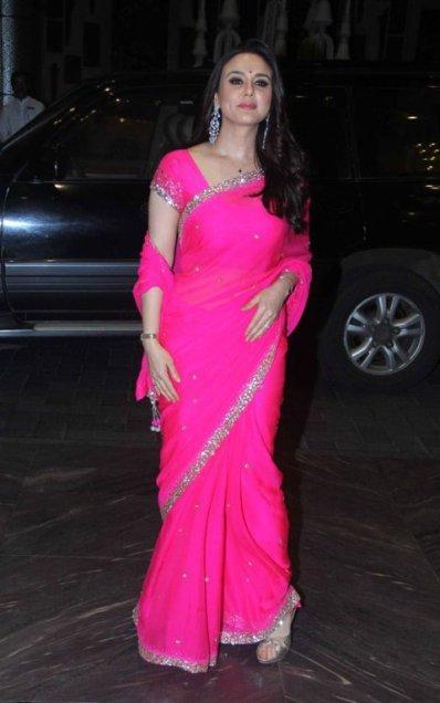 Manish Malhotra sari