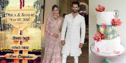 Shahid Kapoor Mira Rajput Wedding - All the details on wedding blog thedelhibride