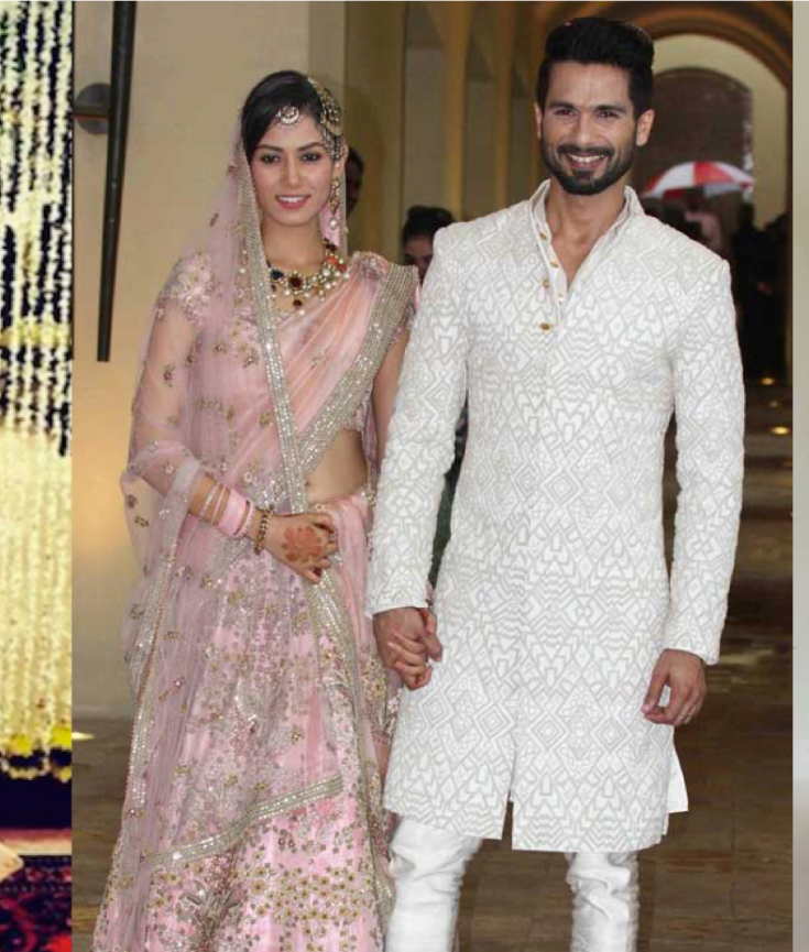 Shahid Kapoors Wedding To Mira Rajput All The Details An Indian