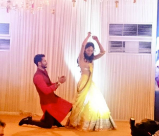 Shahid & Mira dance at their Sangeet