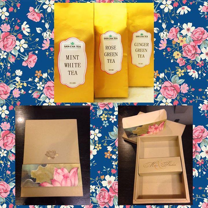 Shahid Kapoor Mira Rajput Wedding | Wedding Favour tea in beautiful packaging