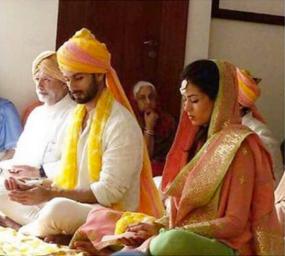 Anand Karaj ceremony