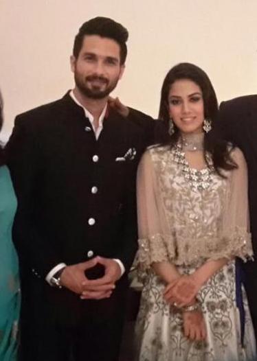 Shahid & Mira what they wore to their Delhi after party Reception | Shahid Kapoor Mira Rajput wedding #ShahidkiShaadi