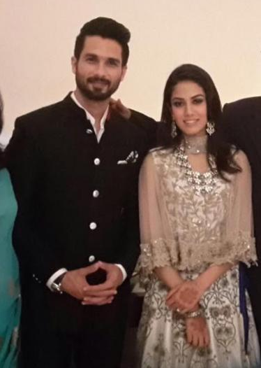 Shahid & Mira what they wore to their Delhi after party Reception | Shahid Kapoor Mira Rajput wedding #ShahidkiShaadi