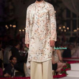 Floral Kurta for Men with wide legged bottoms - Varun Bahl - Amazon India Couture Week 2015