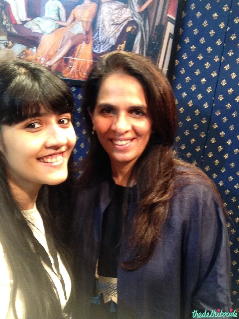 Anita Dongre - Selfie 1 - Vogue Wedding Show 2015