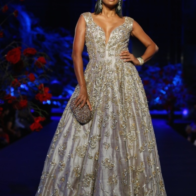 Ball Gown with Heavy Sequin Work 1 - Manish Malhotra - Amazon India Couture Week 2015
