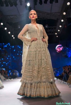 Chikankari Kurta With Lehenga - Tarun Tahiliani - BMW India Bridal Fashion Week 2015