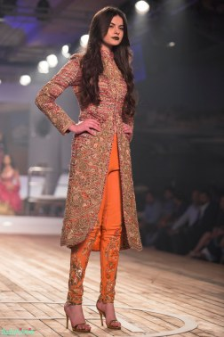 English Tweed Jacket with Zardozi Work with Embroidered Zardozi Cigarette Pants 2 - Monisha Jaising - Amazon India Couture Week 2015 .jpg