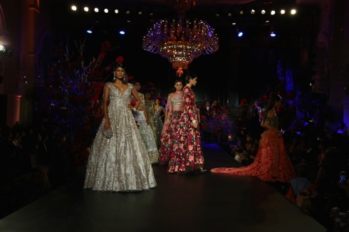 Heavy Sequin Gown - Manish Malhotra - Amazon India Couture Week 2015