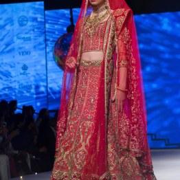 Heavy wedding lehenga with Zardozi Embroidery - Tarun Tahiliani - BMW India Bridal Fashion Week 2015
