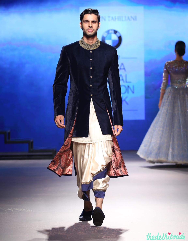 how to wear bengali dhoti