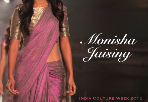 Monisha Jaising Amazon India Couture Week 2015